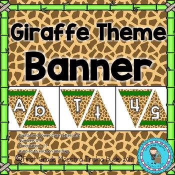 Giraffe Theme Custom Banner