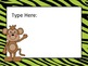 Jungle Theme Editable PowerPoint for Open House
