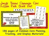 Jungle Theme Grade Five Common Core Lesson Planning Pack