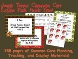 Jungle Theme Grade Four Common Core Lesson Planning Pack