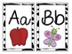 Jungle Theme Large Letter Cards with Beginning Sounds