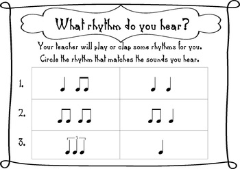 Jungle Theme! Music Rhythm Posters by Miss Emma's Music
