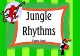 Jungle Theme! Music Rhythm Posters