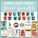Jungle Theme | Music Room Decor
