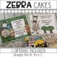 Jungle Theme Open House Treat Certificate (Zebra Cakes)
