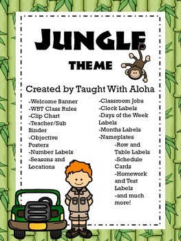 Jungle Theme Pack