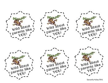 Jungle Theme-Parent Tags