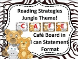 Jungle Theme Reading Strategy Cafe Bulletin Board