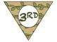 """Safari/Jungle Theme Triangle Banner - """"Wild About XX Grade"""""""