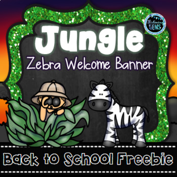 Jungle Theme Welcome Banner - FREE