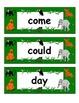 Jungle Theme Word Wall Words