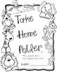 Jungle Theme Take Home and Writer's Folder Covers