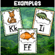 Jungle Theme Alphabet Set With 23 Digraphs and Blends