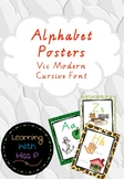 Jungle Themed Alphabet posters VIC