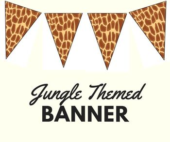 Jungle Themed Banner