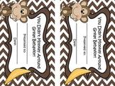 Jungle Themed Behavior Certificates (5 Certificates)