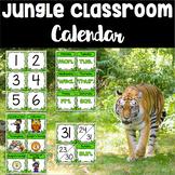 Jungle Theme Calendar Set
