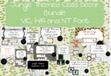 Jungle Themed Class Decor Bundle VIC, WA and NT Font
