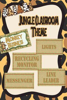 Jungle Themed Class Jobs