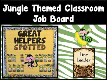 Jungle Classroom Job Board