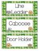 Jungle Themed Classroom Job Cards