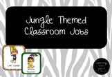 Jungle Themed Classroom Jobs