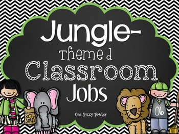Jungle-Themed Classroom Jobs with Melonheadz