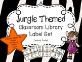 Jungle Themed Classroom Library Label Set