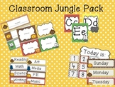 Jungle Themed Classroom Pack