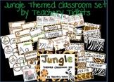 Jungle Themed Classroom Set