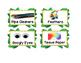 Jungle Themed Classroom Supply Labels