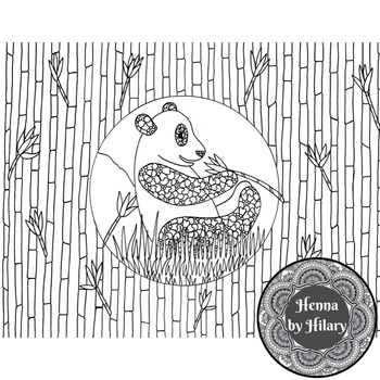 Hand-Drawn Jungle Themed Coloring Pages