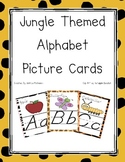 Jungle Themed D' Nealian Alphabet Cards