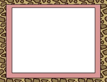 Jungle Safari Themed Editable Blank PowerPoint
