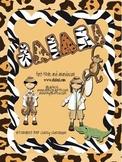 Jungle Themed Kit~classroom printables