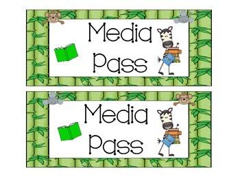 Jungle Themed Passes