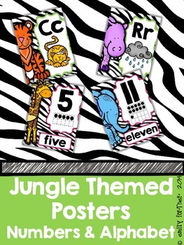 Jungle Themed Poster BUNDLE