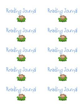 Jungle Themed Reading Journal Kit