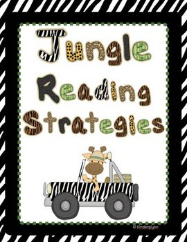 Jungle Themed Reading Strategies (Aussie Version Included)