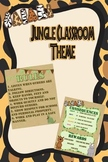 Jungle Themed Rules & Consequences Posters