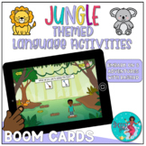 Jungle Themed Speech and Language Games   BOOM Cards