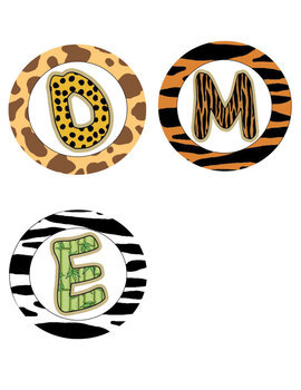 Jungle Themed Welcome Banner FREEBIE
