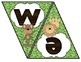 Jungle Themed Welcome Banner, Pennant Style