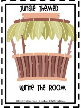 Jungle Themed Write the Room