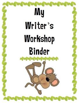 Jungle Themed Writer's Workshop Binder