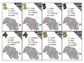Jungle Articulation Card Game