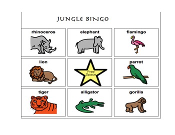 Jungle Unit-for Autistic Children and Children with Language Delays