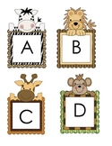 Jungle Uppercase Lowercase Letter Practice