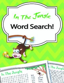 Jungle Word Search