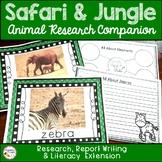 Jungle Zoo and Safari Animals Research